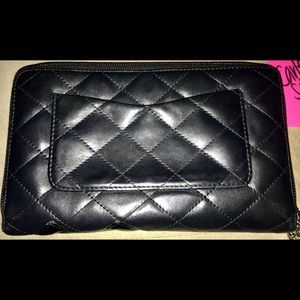 CHANEL Bags - Chanel Quilted Cambon Ligne Zippy Organizer w/pink